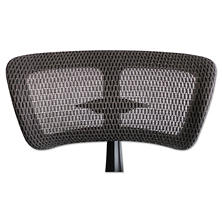 Alera EQ Series Mesh Headrest, Black