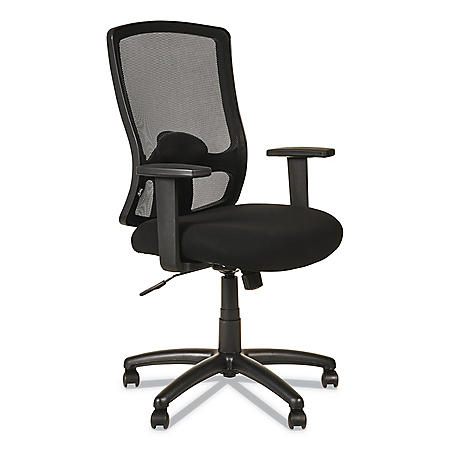 Alera Etros Series High-Back Swivel/Tilt Chair (Black)