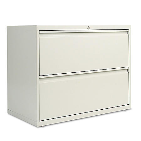 "Alera 36"" 2-Drawer Lateral File Cabinet, Select Color"