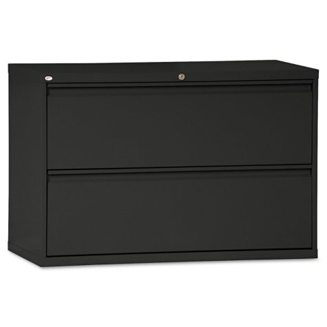 "Alera 42"" 2-Drawer Lateral File Cabinet, Select Color"