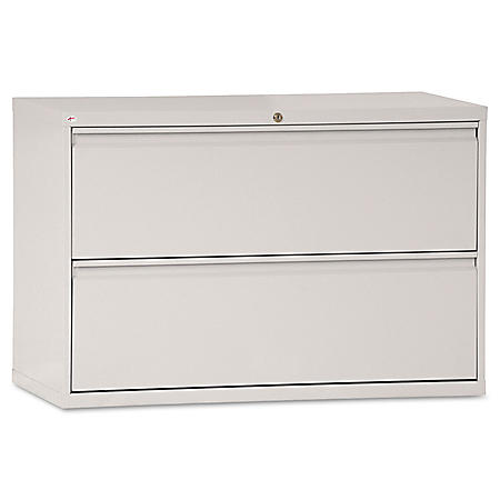 """Alera 42"""" 2-Drawer Lateral File Cabinet, Select Color"""