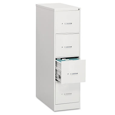 OIF - Vertical File Cabinet, 4-Drawer, Economy, Legal, 26-1/2