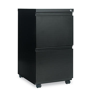 Alera 2-Drawer Metal Pedestal File, Select Color