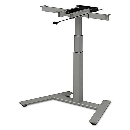 Alera 3-Stage Single-Column Electric Adjustable Table Base, Select Color