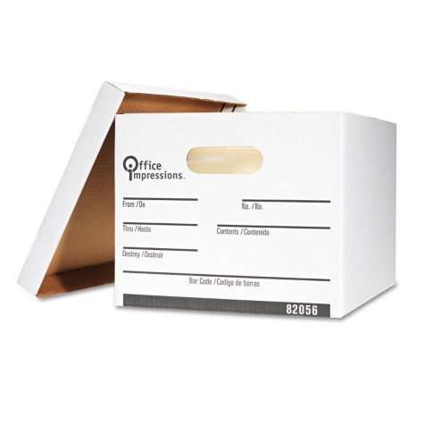 Office Impressions - Economy Storage Letter/Legal File, 12 Count