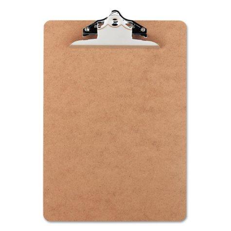 Office Impressions - Hardboard Clipboard - Brown