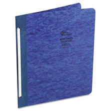 "Office Impressions - Pressboard Report Cover, Dark Blue, 8 1/2 x 11, 3"" Capacity"