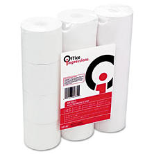 Office Impressions - Calculator Plain Paper Roll - 12 Pack