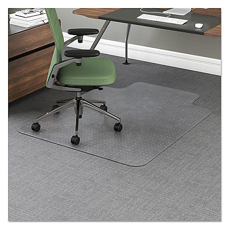"Office Impressions Chair Mat - 10"" Lip - Clear"