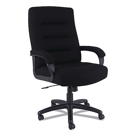 Alera Kesson Series High-Back Office Chair - Supports up to 300 lbs, Black