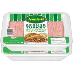 Jennie-O Lean Ground Turkey (2.5 lb. per pk., 2 pk.)