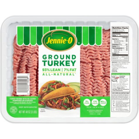 Jennie-O Lean Ground Turkey (2.5 lb. trays, 2 ct.)