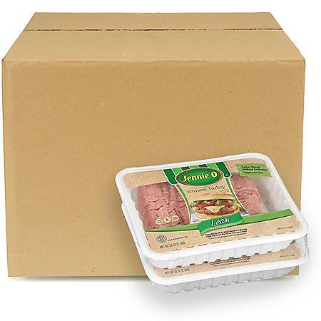 Jennie-O Antibiotic-Free Ground Turkey, Bulk Wholesale Case (16lbs.)