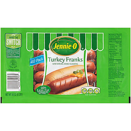 Jennie-O Turkey Franks (5 lbs.)