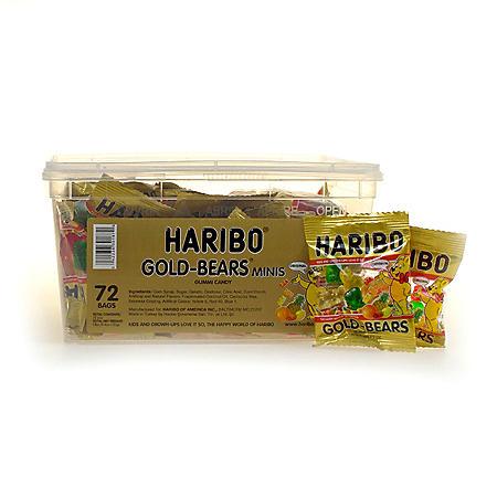 Haribo Gold-Bears Mini (0.35 oz., 72 ct.)