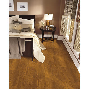 Premier By Armstrong 12mm Cherry Natural Laminate Flooring Sams Club
