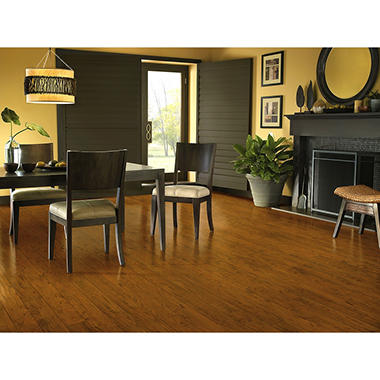 Armstrong Illusions 8mm Native Cherry Laminate Flooring Sams Club