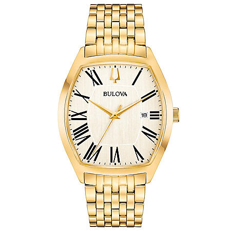 Bulova Men's Gold Tone Dress Watch