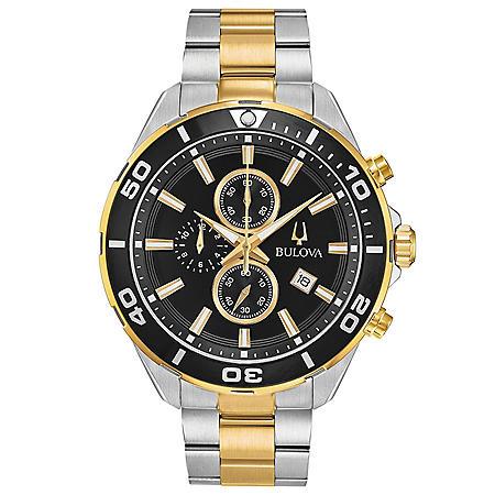Bulova Men's Two-Tone Chronograph Watch