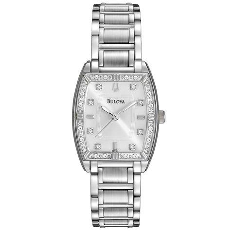 Bulova Women's 96R162 HIGHBRIDGE Diamond Bezel Watch