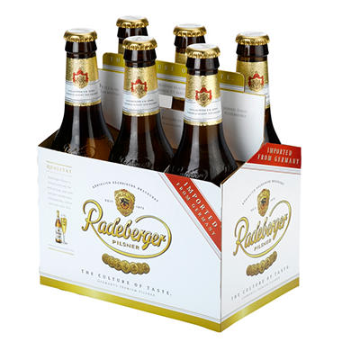 Redeberger Pilsner - 12 oz. bottles - 6 pk.