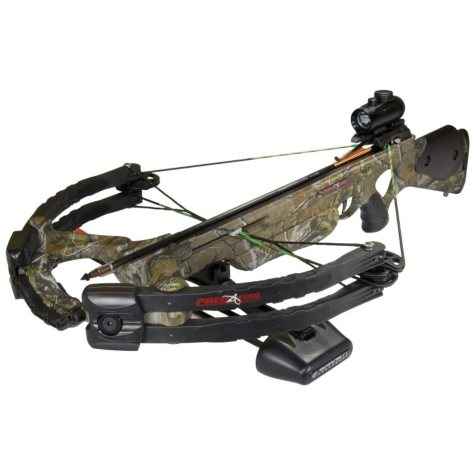 Barnett Predator Crossbow Package 175# with Red Dot Scope