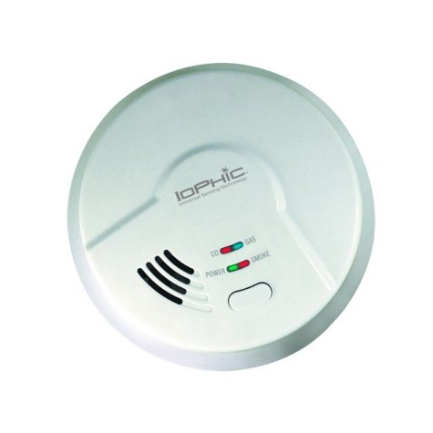 Electric 4-in-1 Universal Smoke Sensing (IoPhic) Hardwired Smart Alarm