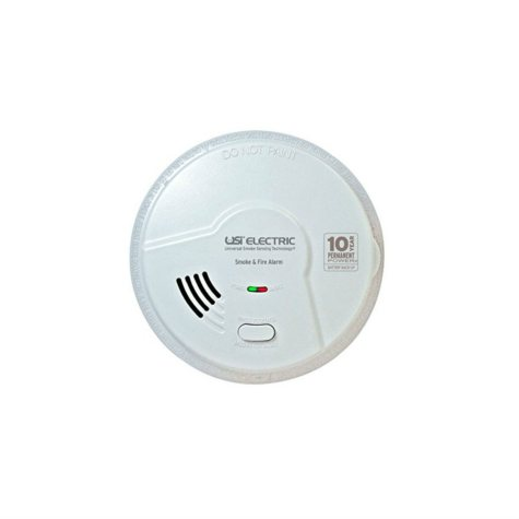 Hardwired 2-in-1 Smoke and Fire Smart Alarm with 10-Year Sealed Battery Backup