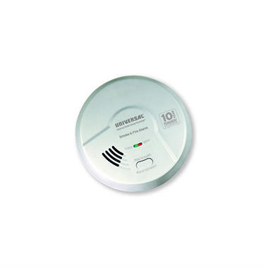 2-in-1 Smoke and Fire Smart Alarm with 10-Year Sealed Battery