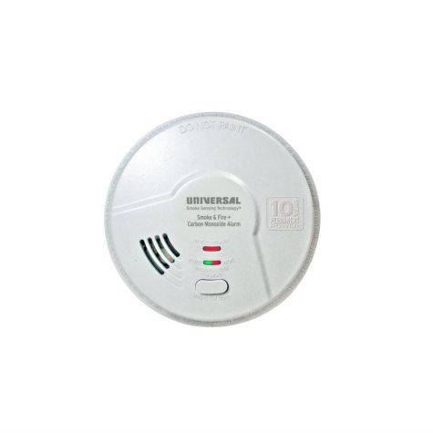 3-in-1 Smoke, Fire and Carbon Monoxide Smart Alarm with 10-Year Sealed Battery