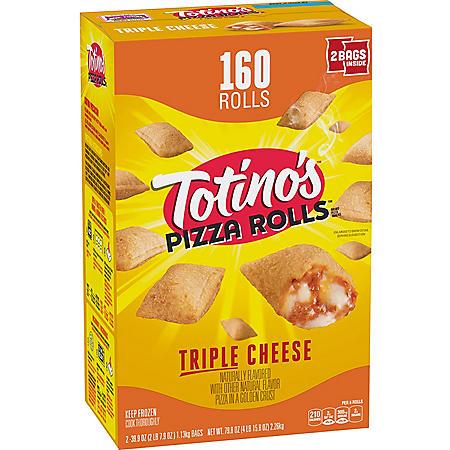 Totino's Triple Cheese Pizza Rolls, Frozen (160 rolls)