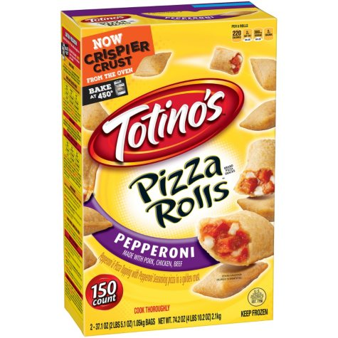 Totino's Pepperoni Pizza Rolls (150 ct.)