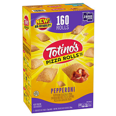 Totinos pepperoni pizza rolls 160 ct sams club totinos pepperoni pizza rolls 160 ct ccuart Choice Image