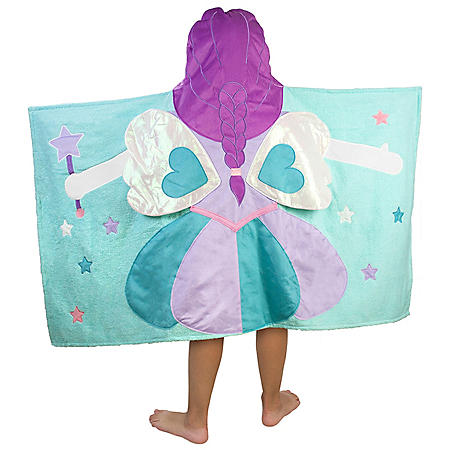 Kids' Hooded Bath Towel (Assorted Patterns)