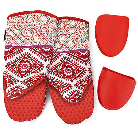 Cuisinart 4-Piece Oven Mitt Set (Assorted Colors)