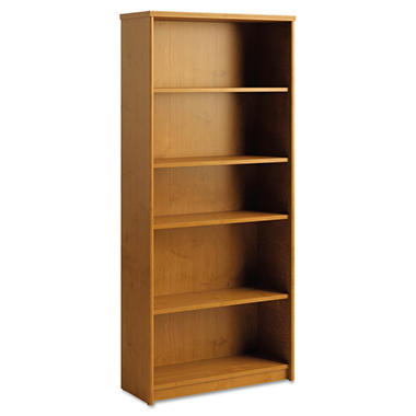 Office Connect Envoy Series 5-Shelf Bookcase, Select Color