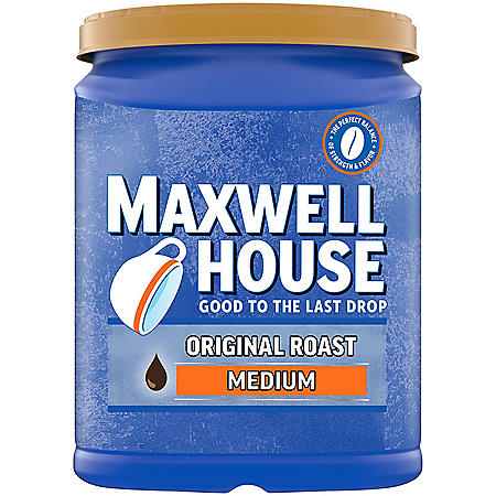 Maxwell House Original Roast Ground Coffee Cannister (42.5 oz.)