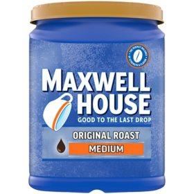 Maxwell House Ground Coffee,  Original Roast (42.5 oz.)