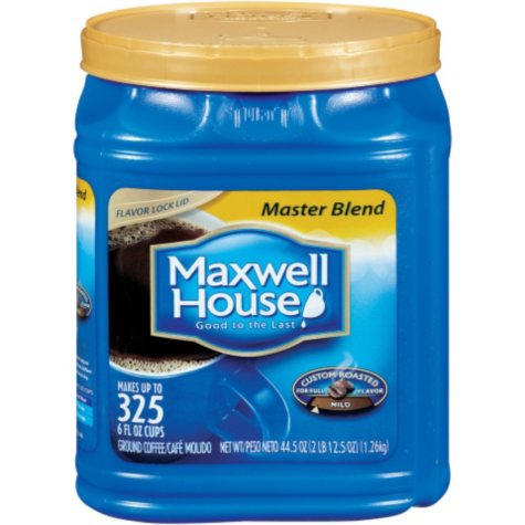 Maxwell House Ground Coffee, Master Blend (44.5 oz.)