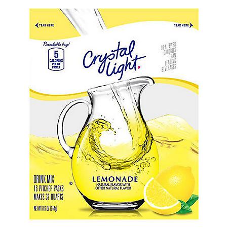 Crystal Light Lemonade Mix (16pk)