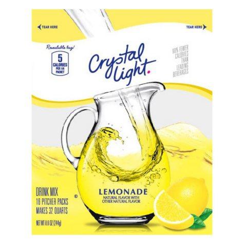 Crystal Light Sugar Free Lemonade Mix (makes 32 quarts)