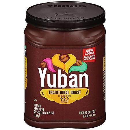 Yuban Medium Roast Ground Coffee (42.5 oz.)