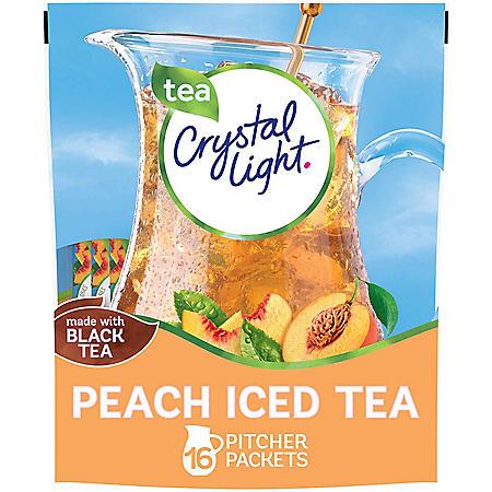 Crystal Light Peach Iced Tea Mix (16 ct.)