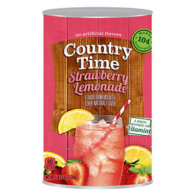 Country Time Strawberry Lemonade Drink Mix (80.64 oz.)