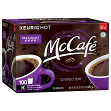 McCaf? Dark Roast Coffee Single Serve Pods (100 ct.)
