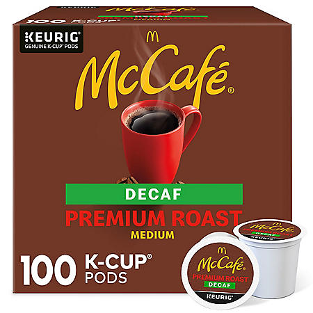 McCafe Decaf Premium Roast K-Cup Coffee Pods (100 ct.)