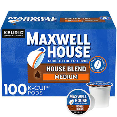 Marvelous Maxwell House, House Blend Coffee (100 K Cups)
