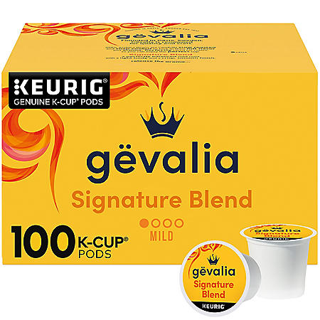 Gevalia Signature Blend K-Cup Coffee Pods (100 ct.)