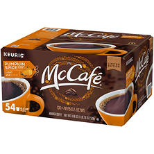 McCafe Pumpkin Spice Coffee K-Cups (18.6 oz., 54 ct.)