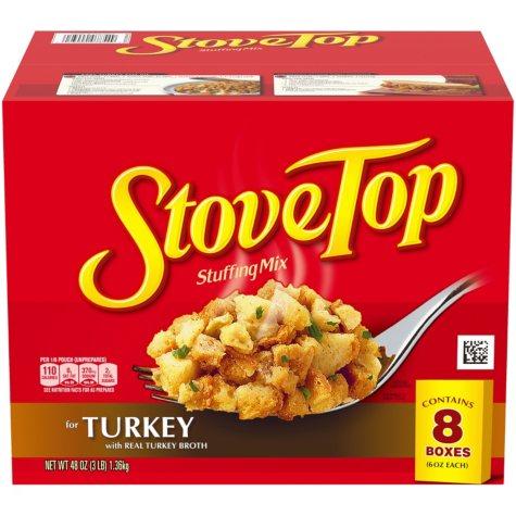 Stove Top Stuffing Mix for Turkey (6 oz., 8 pk.)